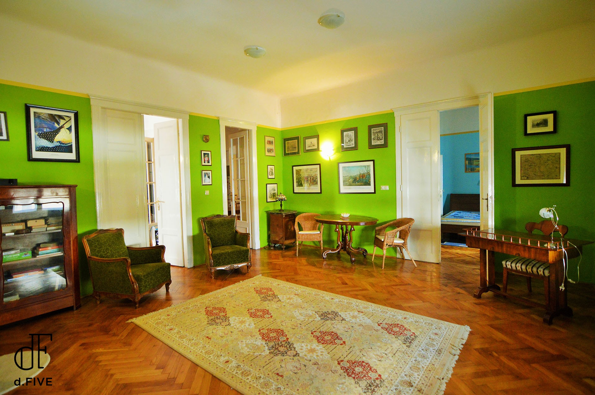 d.FIVE Family Apartment at Margaret Island